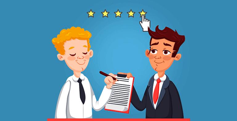 رضایت مشتری از خدمات پشتیبانی